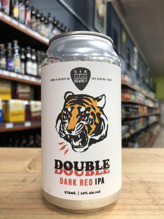 Six String Double Dark Red IPA 375ml Can