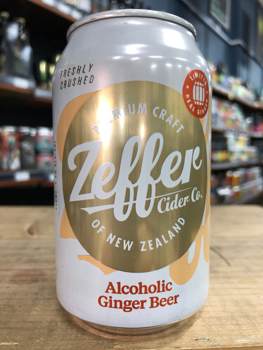Zeffer Real Ginger Beer 330ml Can
