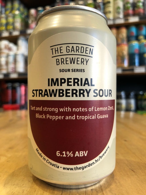 The Garden Imperial Strawberry Sour 330ml Can