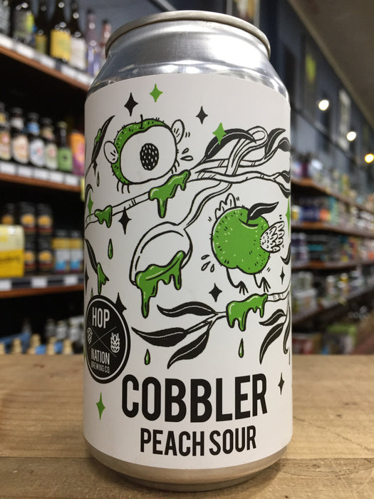 Hop Nation Cobbler Peach Sour 375ml Can