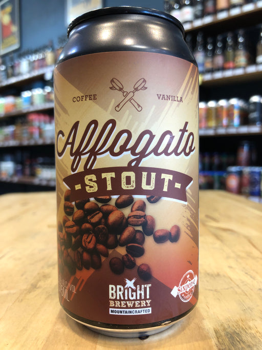 Bright Brewery Affogato Stout 375ml Can