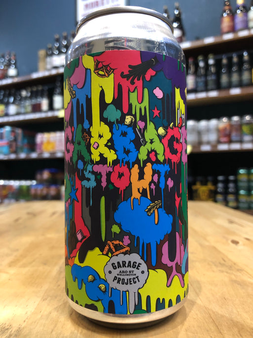 Garage Project Garbage Stout 440ml Can - [Limit 1 per customer]