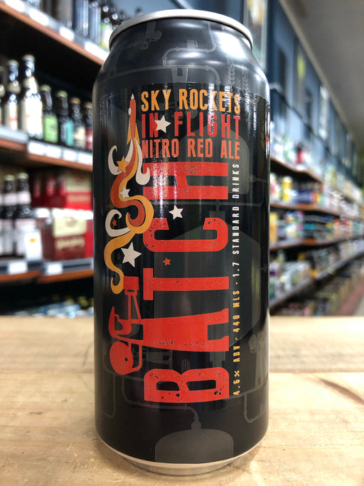 Batch Sky Rockets In Flight Nitro Red Ale 440ml Can