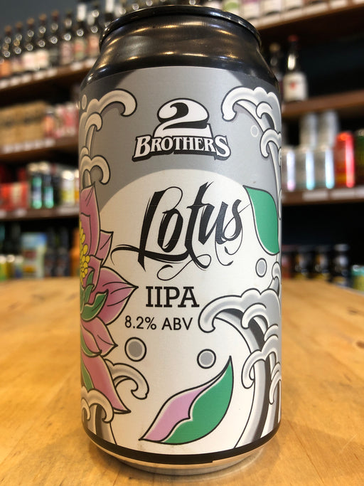 2 Brothers Lotus Hop IIPA 375ml Can