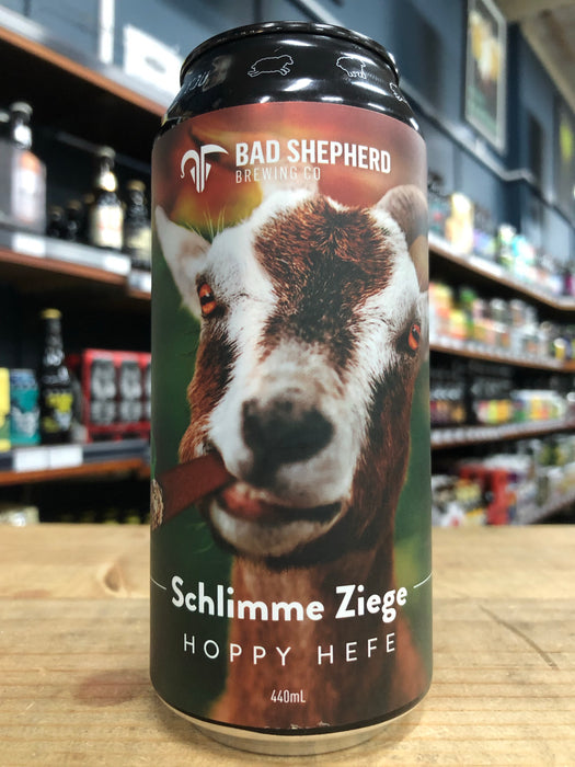 Bad Shepherd Schlimme Ziege Hoppy Hefe 440ml Can