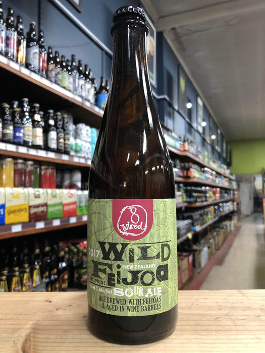 8 Wired Wild Feijoa Sour Ale 2017 Vintage 500ml - Purvis Beer