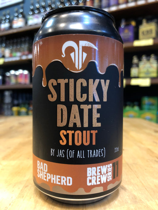 Bad Shepherd Sticky Date Stout 355ml Can