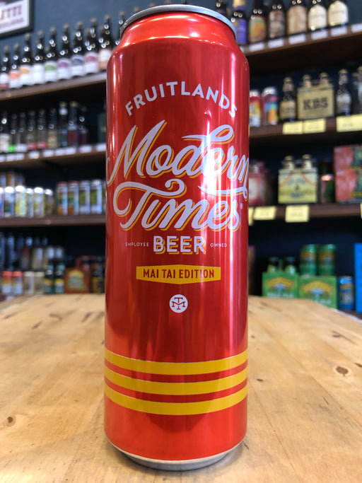 Modern Times Fruitlands Mai Tai Edition 568ml Can