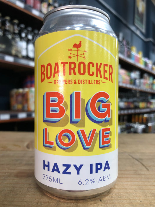 Boatrocker Big Love Hazy IPA 375ml Can