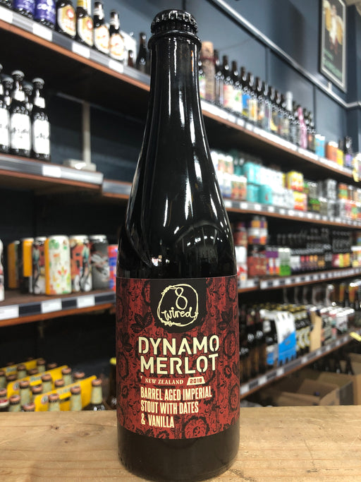 8 Wired Dynamo Merlot 2018 500ml