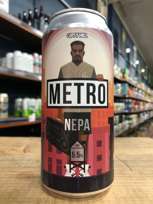 Gipsy Hill Metro Hazy Pale 440ml Can