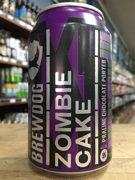 BrewDog Zombie Cake Porter 330ml Can