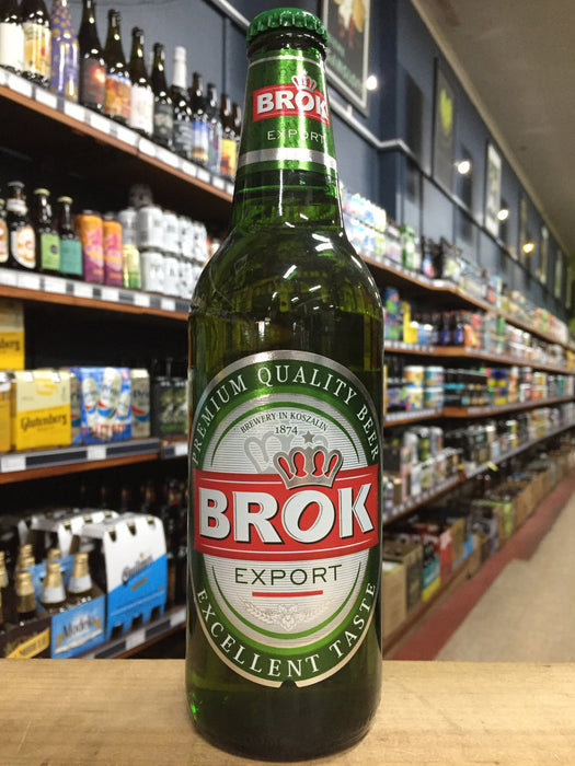 Brok Export Lager 500ml