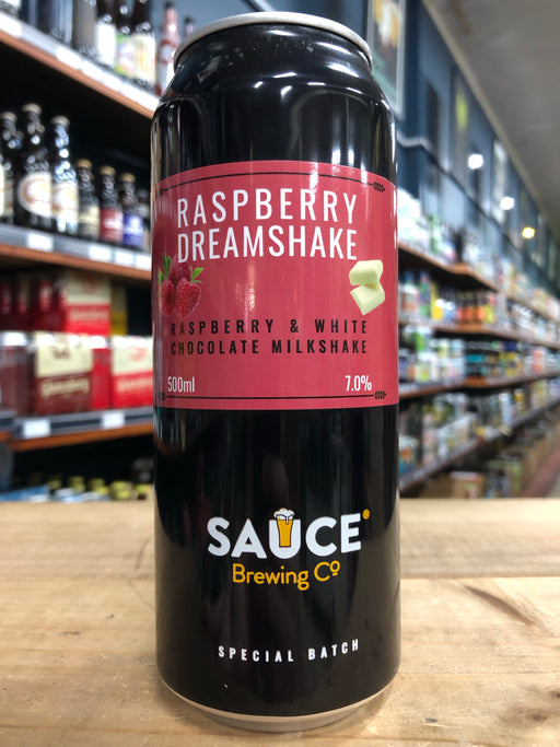 Sauce Raspberry Dreamshake 500ml Can