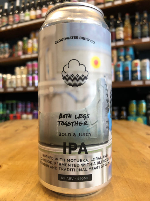 Cloudwater Both Legs Together IPA 440ml Can