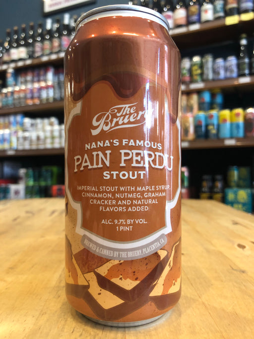The Bruery Nana's Pain Perdu Imperial Stout 473ml Can