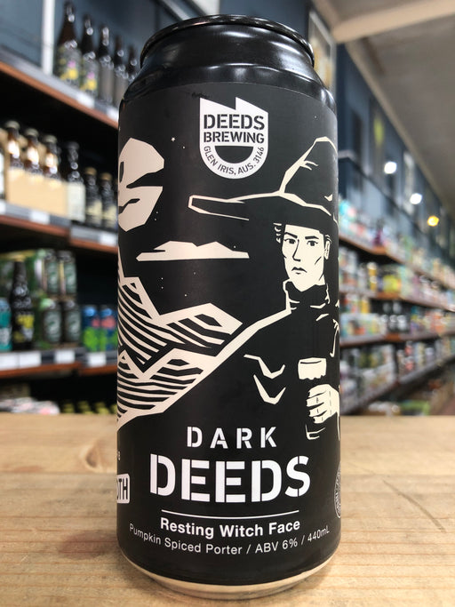Dark Deeds Resting Witch Face Pumpkin Spiced Porter 440ml Can