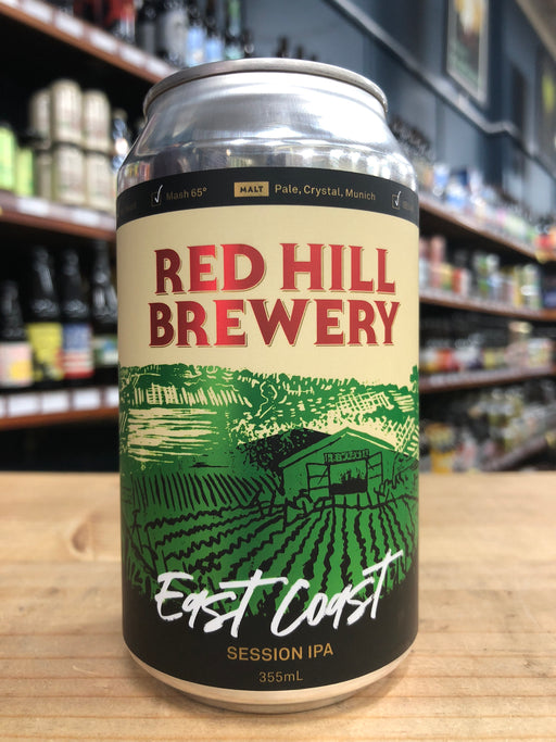 Red Hill East Coast Session IPA 355ml Can