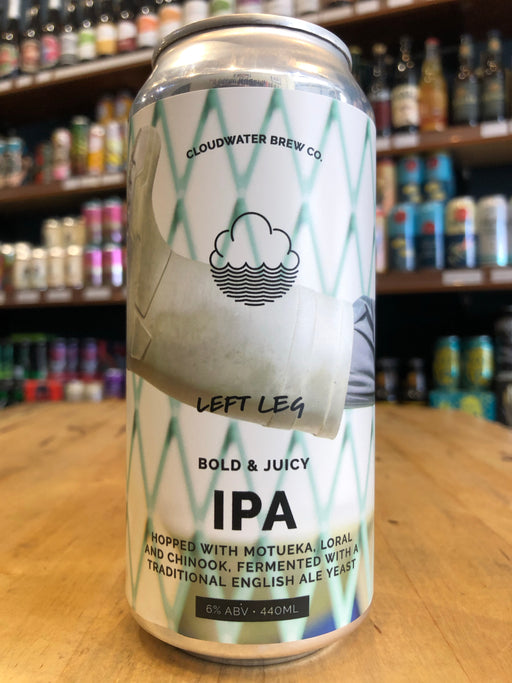 Cloudwater Left Leg IPA 440ml Can