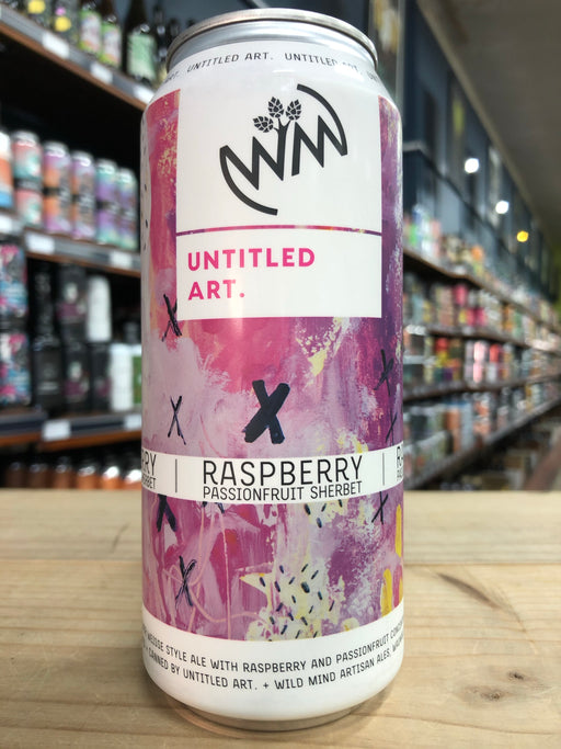 Untitled Art Raspberry Passionfruit Sherbet 473ml Can