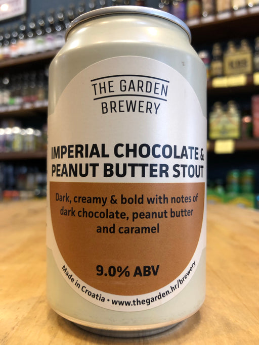 The Garden Imperial Chocolate & Peanut Butter Stout 330ml Can