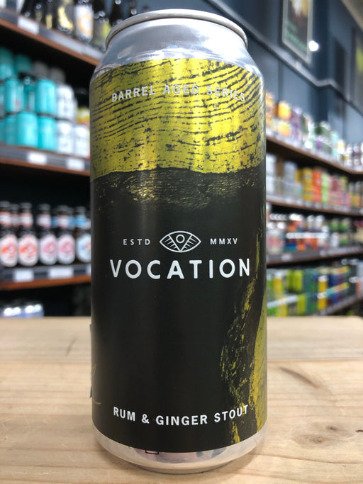 Vocation Rum & Ginger Stout 440ml Can