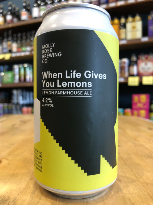 Molly Rose When Life Gives You Lemons 375ml Can