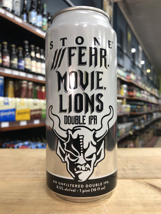 Stone Fear Movie Lions Double IPA 473ml Can