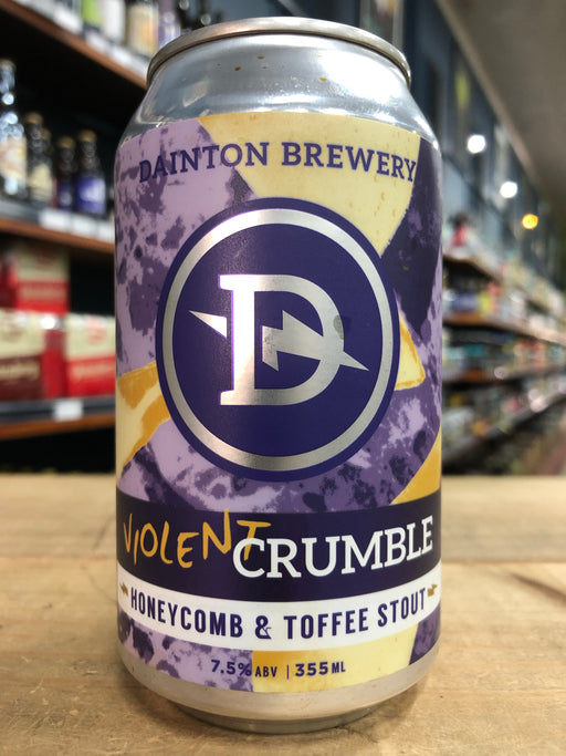 Dainton Violent Crumble Honeycomb & Toffee Stout 355ml Can
