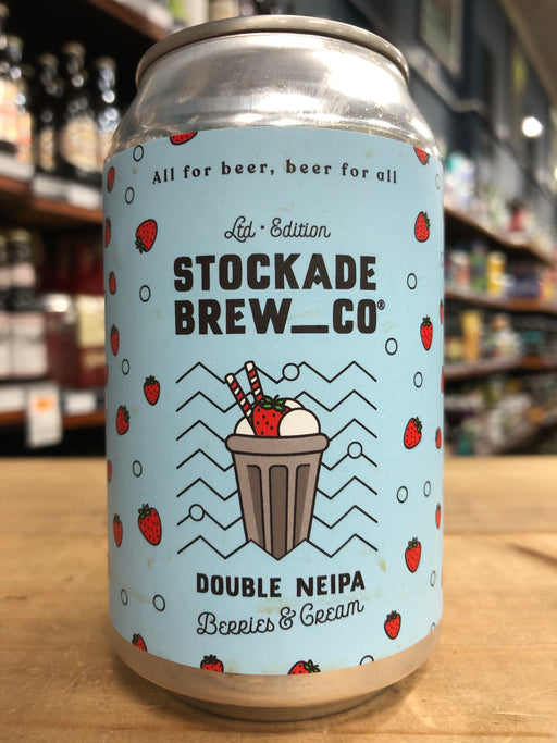 Stockade Double NEIPA Berries & Cream 330ml Can
