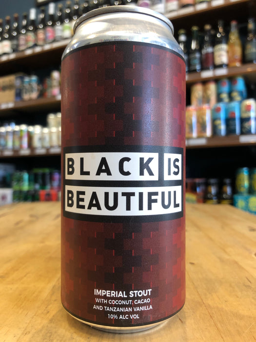 Left Handed Giant Black Is Beautiful 440ml Can