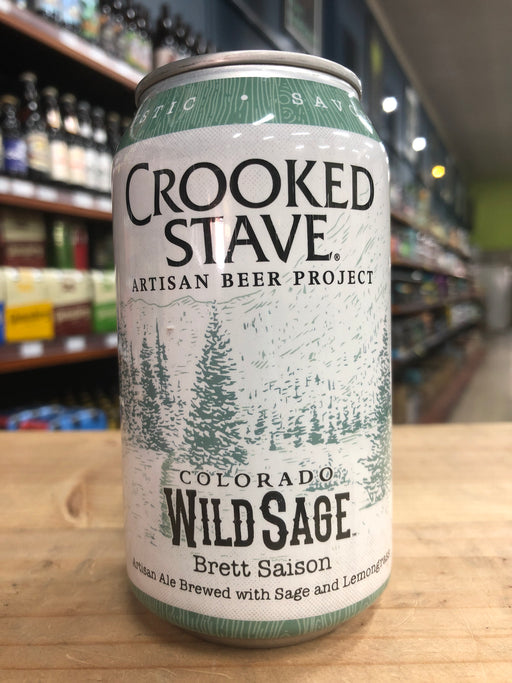Crooked Stave Colorado Wild Sage 355ml Can