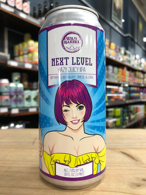 Wild Barrel Next level IPA 473ml Can