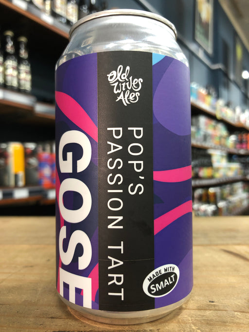 Old Wives Ales Pop's Passion Tart 375ml Can