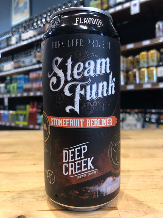 Deep Creek Steam Funk Stonefruit Berliner 440ml Can