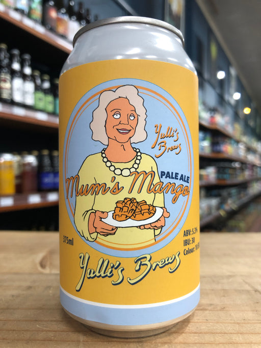 Yulli's Mum's Mango Pale Ale 375ml Can