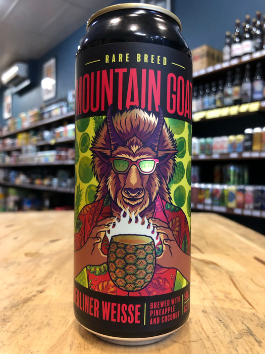 Mountain Goat Rare Breed Berliner Weisse 500ml Can