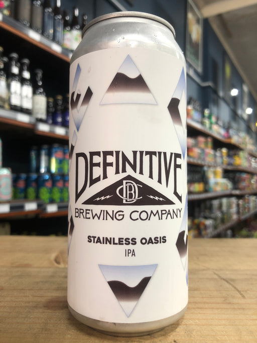 Definitive Stainless Oasis 473ml Can