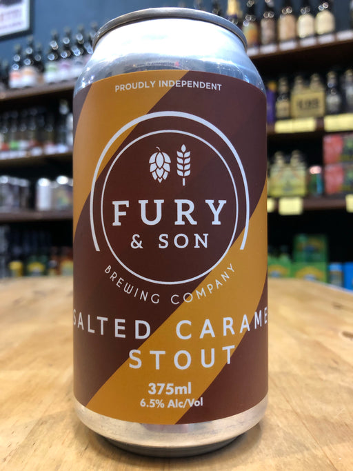 Fury & Son Salted Caramel Stout 375ml Can