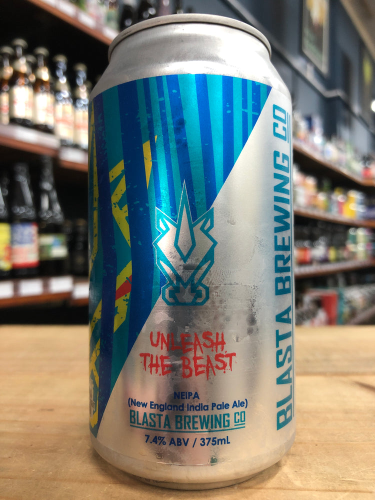 Blasta Unleash The Beast NEIPA 375ml Can