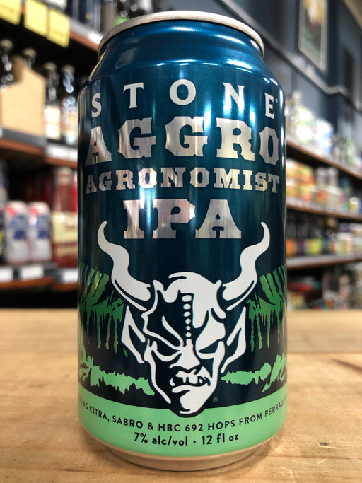 Stone Aggro Agronomist IPA 355ml Can