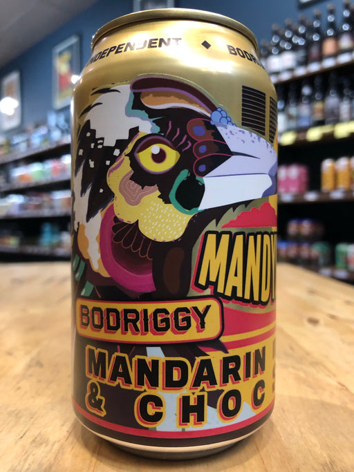 Bodriggy MandyMuck Mandarin Chocolate Stout 355ml Can