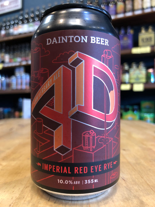 Dainton 4D Imperial Red Eye Rye 355ml Can