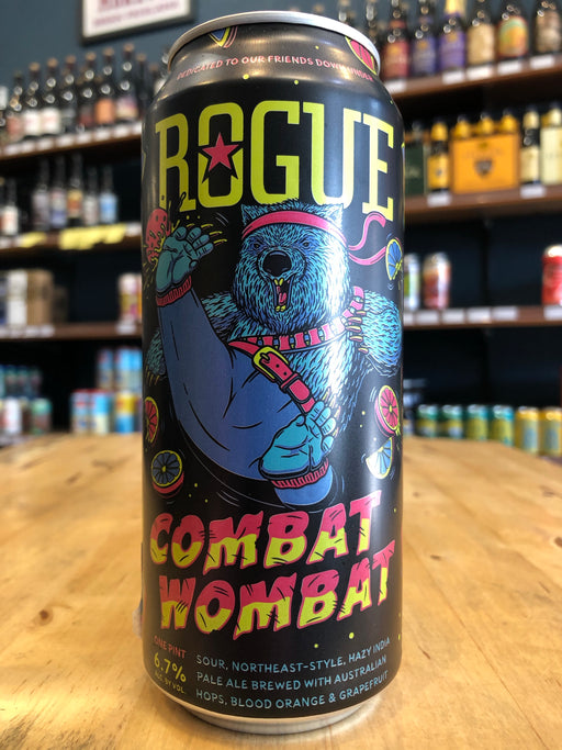 Rogue Combat Wombat 473ml Can