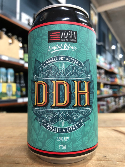 Akasha DDH IPA Citra & Mosaic 375ml Can