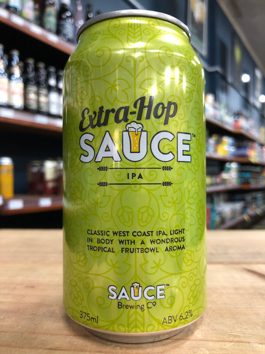 Sauce Extra-Hop Sauce West Coast IPA 375ml Can