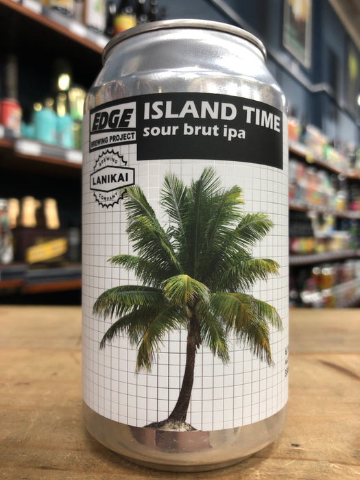 Edge Island Time - Sour Brut IPA 330ml Can