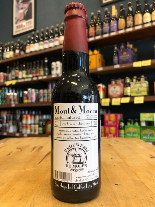 De Molen Mout & Mocha Bourbon Infused 330ml