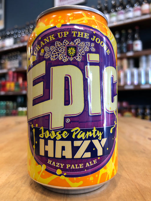 Epic Joose Party Hazy Pale Ale 330ml Can