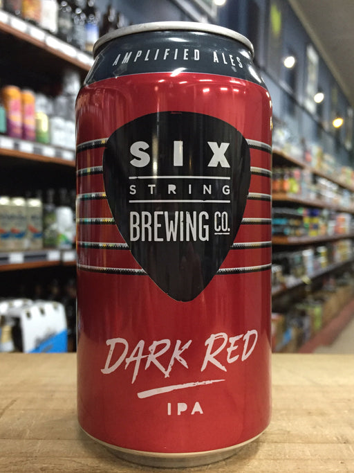 Six String Dark Red IPA 375ml Can